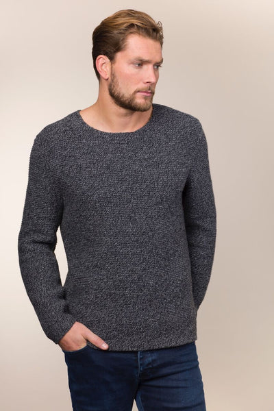 Cashmere & Merino Raw Edge Sweater