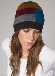 Intarsia Striped Hat