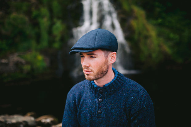 Origional Donegal Tweed 8 Piece Cap