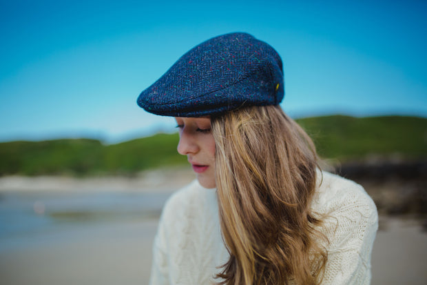 Classic Donegal Tweed Cap
