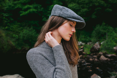 Chic & Classic Donegal Tweed Cap