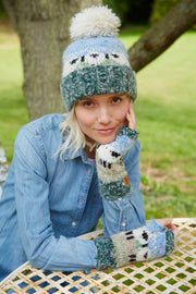 Lazy Sheep Bobble Beanie