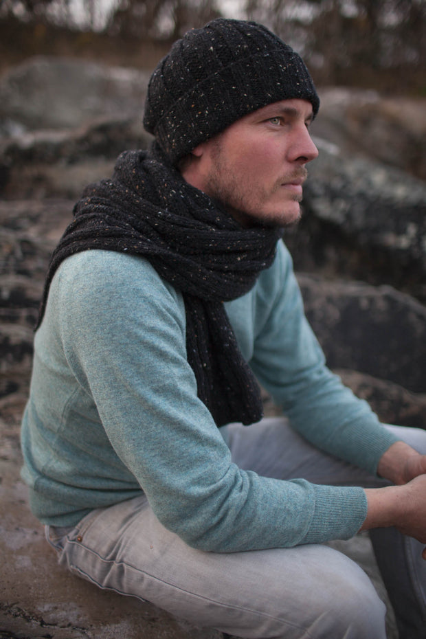 Mens Cashmere & Merino Wool Pullover.