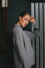 Glen Head Cashmere & Merino Full Sleeve Pullover