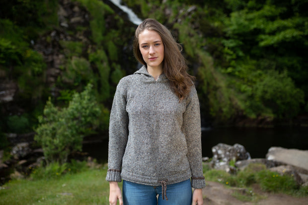 Kilcarra Tweed Yarn hoody