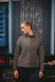 Donegal Funnel Neck Sweater