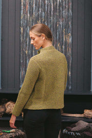 Autumn Cashmere and Wool 2 Button Ribbed Cardigan