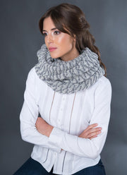 Shell Stitch Extra Wide Scarf