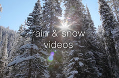 Rain and Snow Relaxation Videos - Collection