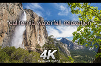 """California Waterfall Relaxation"" 1 HR Dynamic 4K Nature Video"
