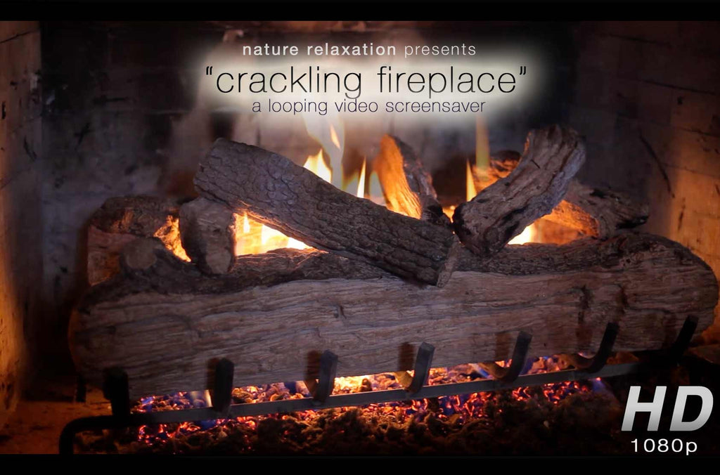 Quot Crackling Fireplace Quot Looping Nature Relaxation Video