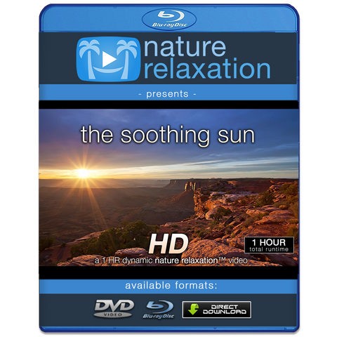 """The Soothing Sun"" 1 HR Dynamic Nature Relaxation Video 1080p"