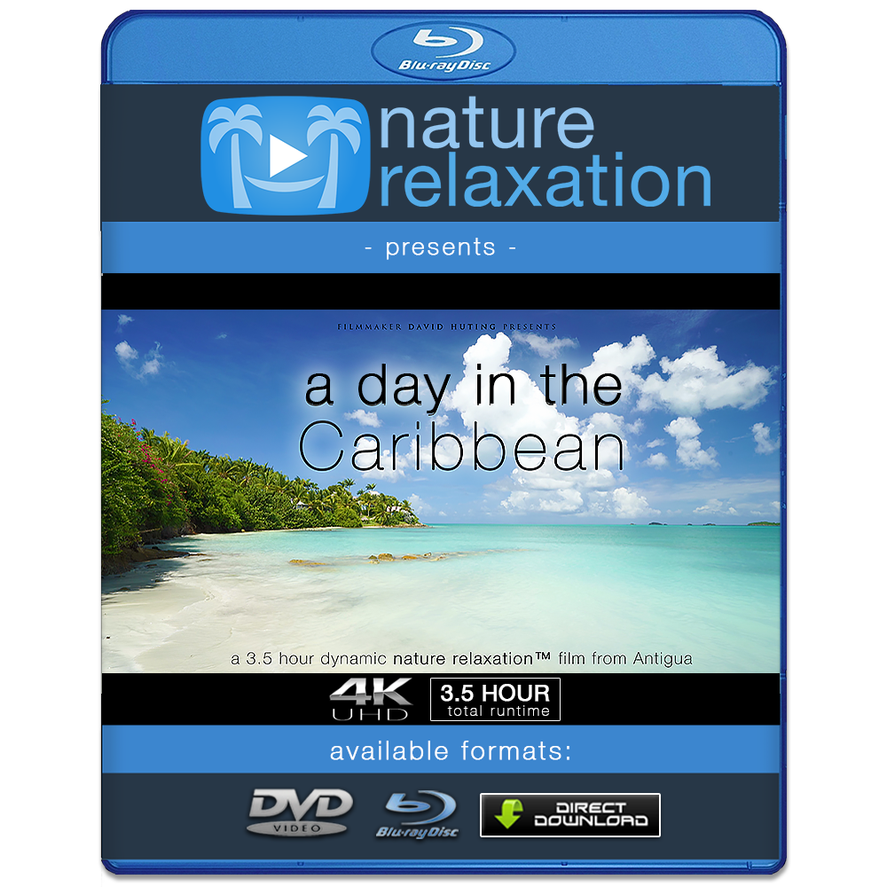 """A Day in the Caribbean"" Antigua 4K 3.5 HR Dynamic Nature Video"