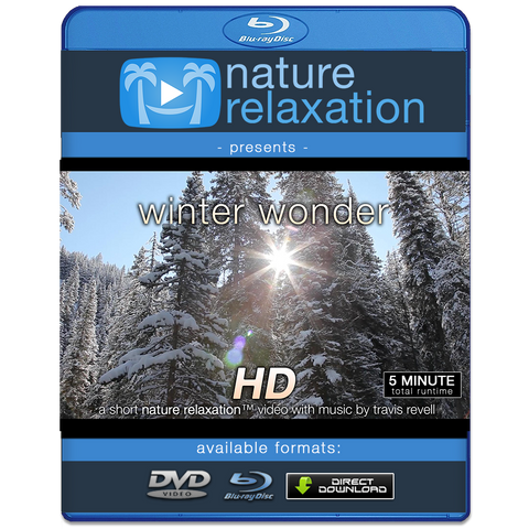 """Winter Wonder"" Relaxing Winter Christmas Nature Relaxation Music Video HD 1080p"