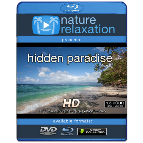 """Hidden Paradise"" Fiji 90 MIN Dynamic Nature Video HD 1080p"