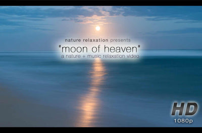 """Moon Of Heaven"" Tropial Moonrise Relaxation Video HD 1080p"