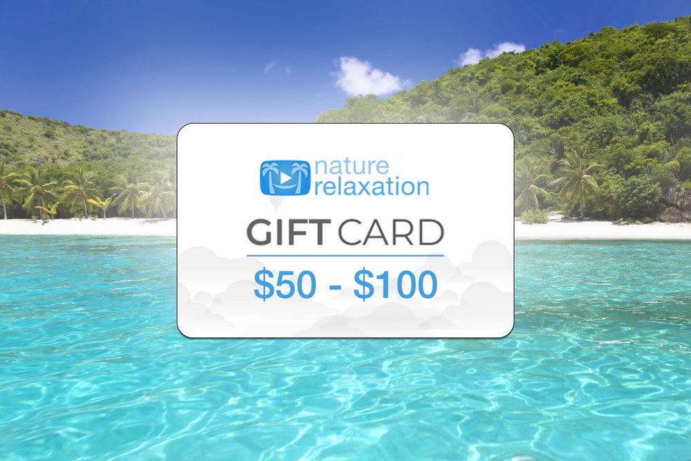Nature Relaxation Customizable E-Gift Card - $50 or $100 USD