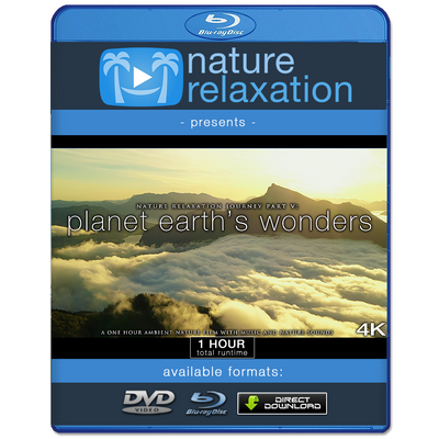 """Nature Relaxation Journey 5: Planet Earth's Wonders"" 1HR Dynamic Film in 4K"