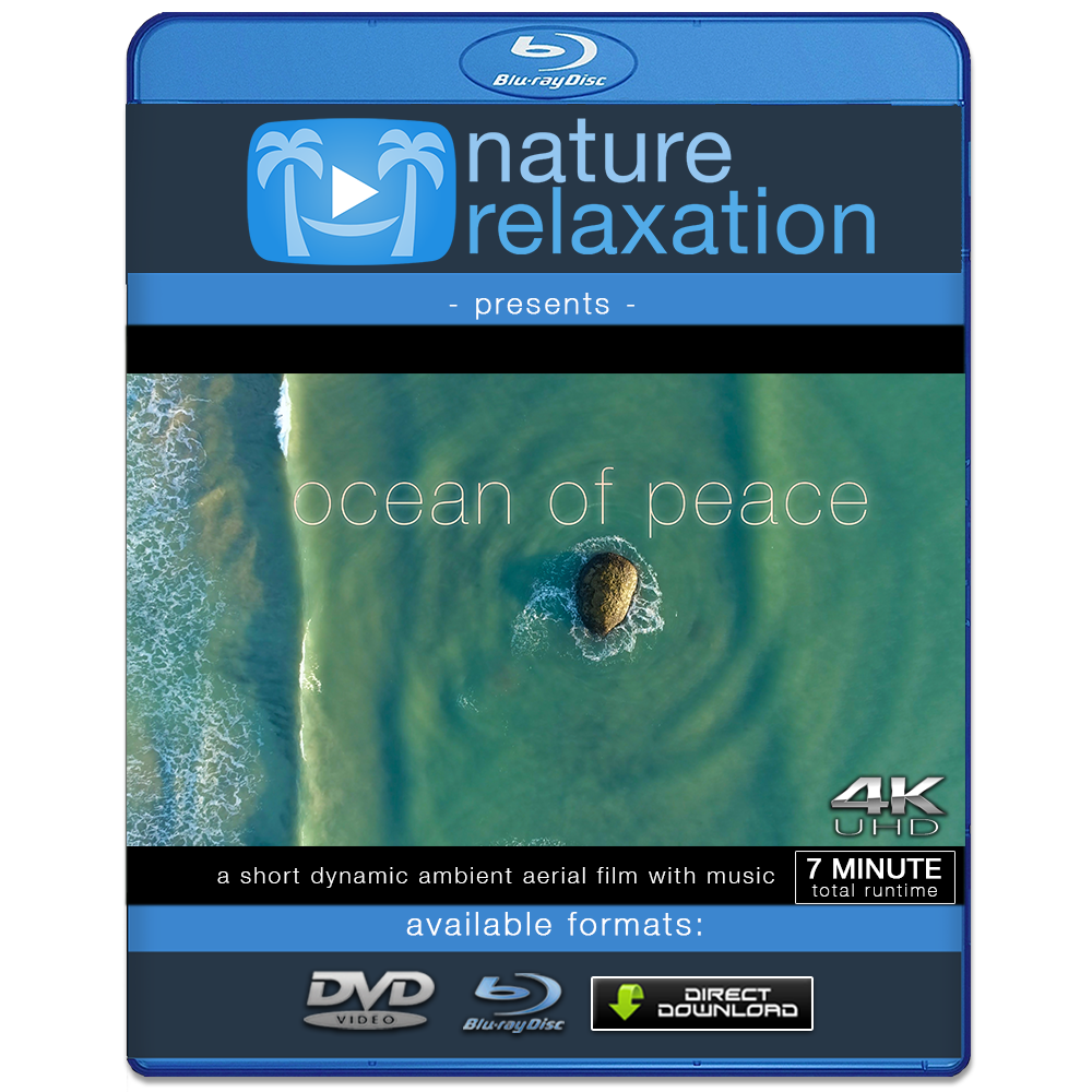 """Ocean of Peace"" Australia 4K 7 Minute Aerial Nature Film w/ Music"