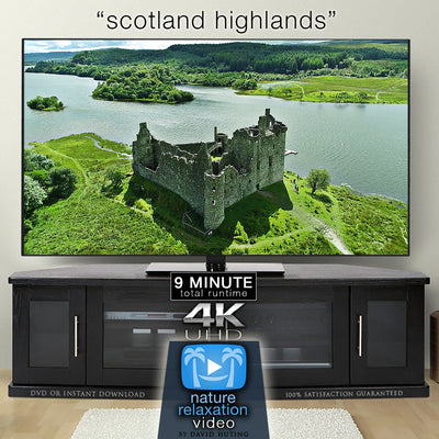 """Scotland Highlands"" Isle of Sky 10 MIN Aerial Film + Music 4K"