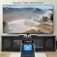 """Iguazu Falls Relaxation"" 4K Dynamic 1-Hour Nature Relaxation Film"