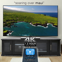 """Soaring Over Maui"" 1.3 HR Aerial Film in 4K UHD w/ Music"