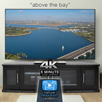 """Above the Bay"" Aerial San Diego Drone Flight 4K Music Video"