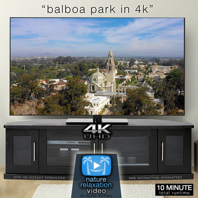 """Balboa Park in 4K"" San Diego 10 MIN Dynamic Film + Music 4K"