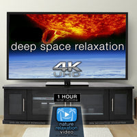 """Deep Space Relaxation"" The Sun 1 HR Dynamic 4K Video w Music"