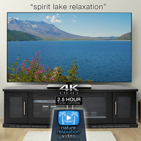 """Spirit Lake Relaxation"" 2.5 HR Dynamic Nature Film in 4K"
