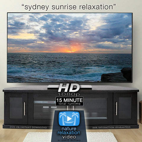 """Stunning Sydney Sunrise"" 15 MIN Dynamic Nature Film in HD"