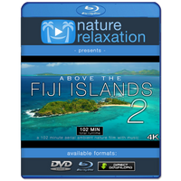 """Above the Fiji Islands 2"" 102 Minute Aerial Film in 4K UHD + Music"