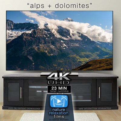 """Alps + Dolomites"" Timelapse 23 MIN Dynamic Music Video 4K"