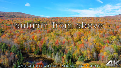 """Autumn From Above"" 6 Minute Short Drone Film in 4K UHD"