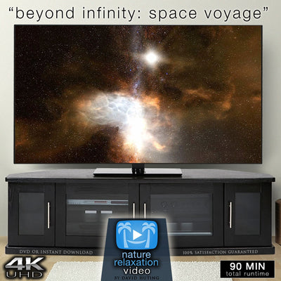"""Beyond Infinity"" 90 Minute Space Voyage Video + Music in 4K"