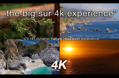 """The Big Sur Experience"" 4 HR Dynamic Nature Film Shot in 4K (Remastered)"