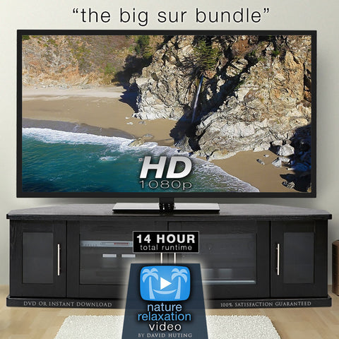 """The Big Sur Bundle"" Over 13 Hours of Pure Nature Videos in 1080p HD"