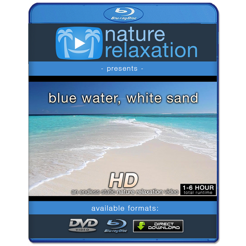 """Blue Water, White Sand"" Looping Nature Relaxation Screensaver HD"