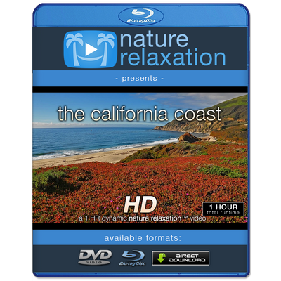 """The California Coast"" HD Nature Relaxation Video 1 Hour 1080p"