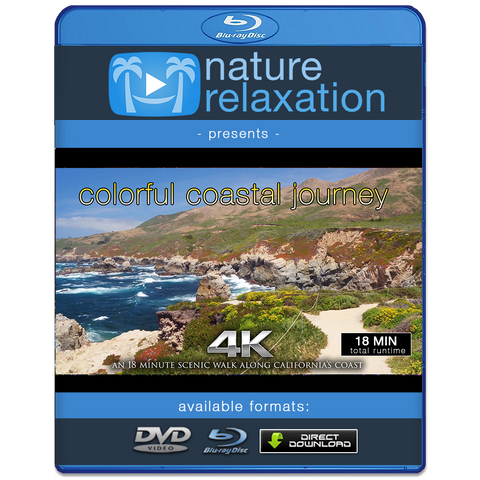 """Colorful Coastal Journey"" 18 MIN Dynamic Walk & Flight in 4K"