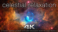 """Celestial Relaxation"" NASA Space 1 HR Dynamic 4K Video w Music"