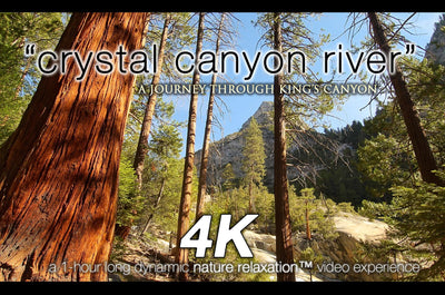 """Crystal Canyon River"" 1 HR Dynamic 4K UHD Nature Video"