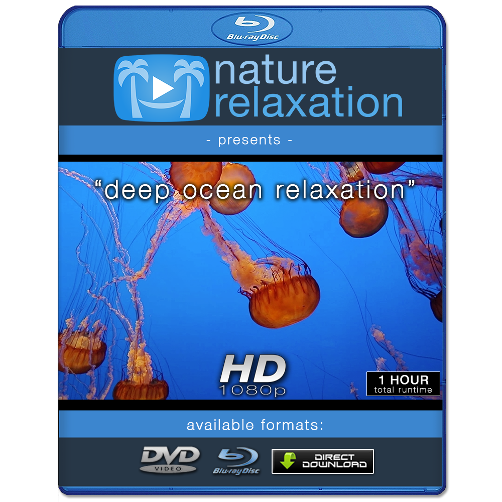 """Deep Ocean Relaxation"" 1 or 8 HOUR Underwater / Aquarium Video HD 1080p"