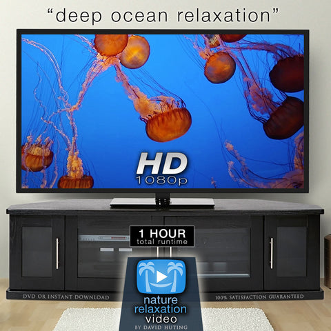 """Deep Ocean Relaxation"" Underwater Aquarium 1 Hour Relaxation Video HD 1080p"