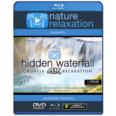 """Hidden Waterfall Relaxation"" Croatia 1 HR Dynamic 4K Nature Video"