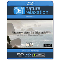 """A New Day in Big Sur"" 2 HR Dynamic Nature Relaxation Video 1080p"
