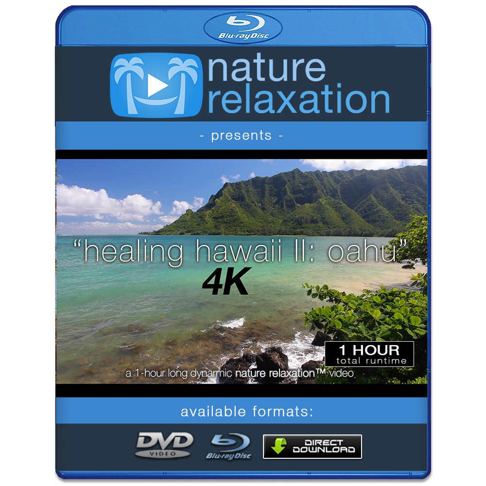 """Healing Hawaii II: Oahu"" 1 HR Dynamic 4K UHD Nature Video"