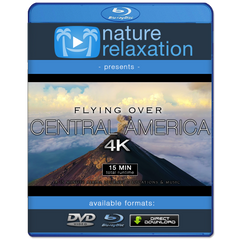 """Flying Over Central America"" 15 MIN Aerial Nature Film in 4K (+Locations)"