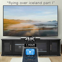 """Flying Over Iceland"" Pt 1: Eastern Fjords 1 HR Aerial Film + Music 4K"
