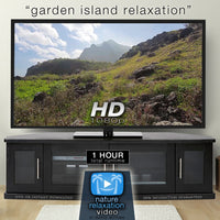 """Garden Island Relaxation"" Tropical 1 Hour Nature Relaxation Video HD 1080p"